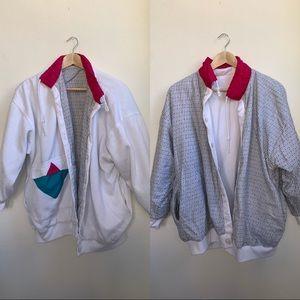 Vintage 80s Reversible Jacket